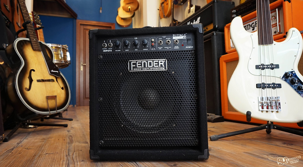 Fender Rumble 25, Amp, Speaker, Amplifier