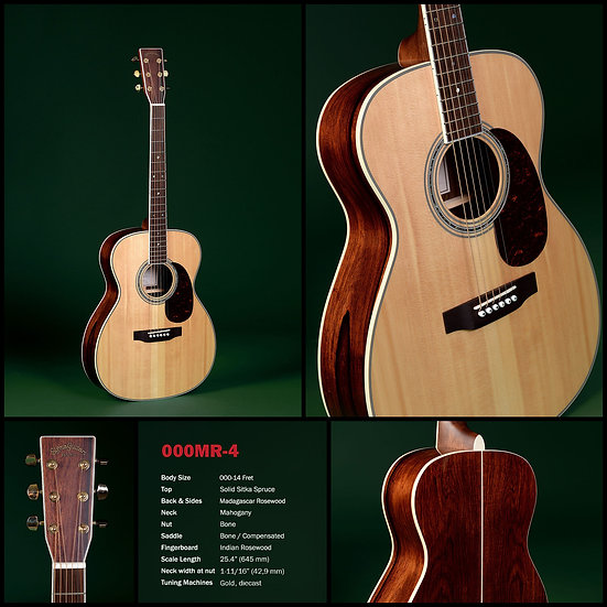 4 series | OMMR-4, Guitar, Sigma-Guitars