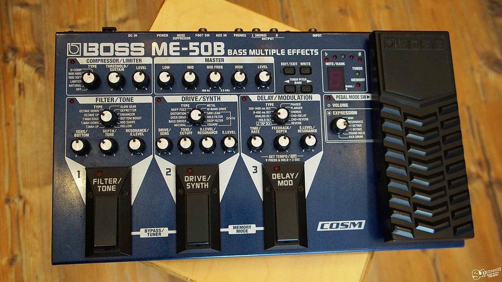 BOSS ME-50B | Bass Multiple Effects