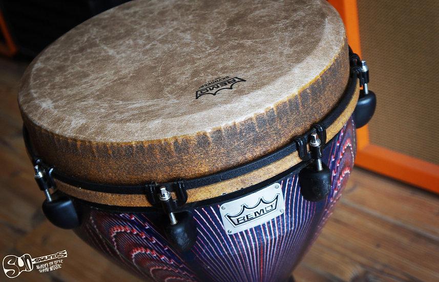 "Mondo™ Djembe Drum - Salsa Deco 14"" by REMO, Djembe, Drum, Percussion"