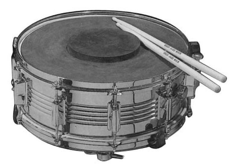 rubber pratice drumpad malta