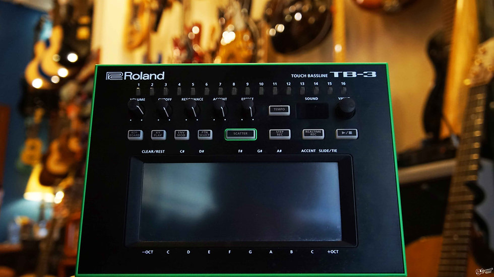 Roland TB-3 | Touch Bassline Synthesizer