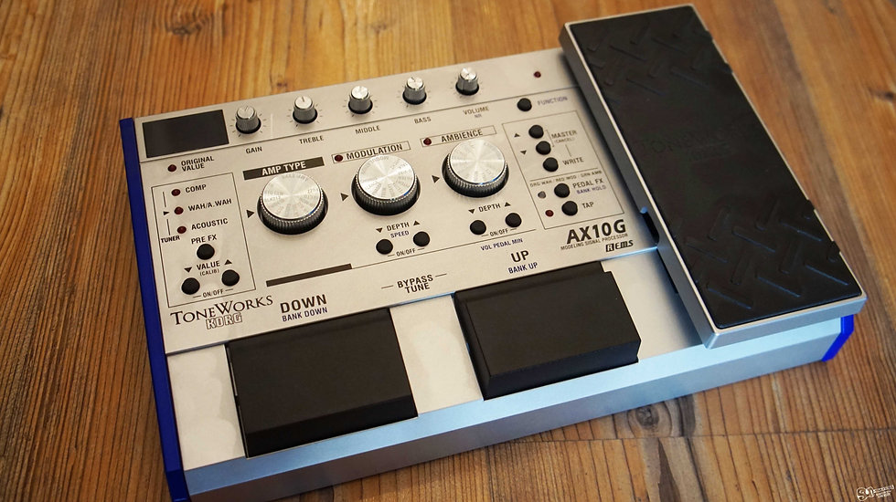 Toneworks AX10G Guitar Modeling Effect Processor
