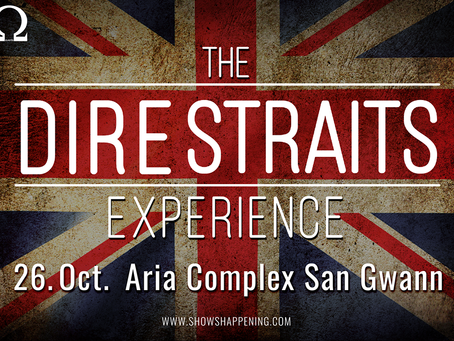 The Dire Straits Experience in MALTA this October 26th 2017!