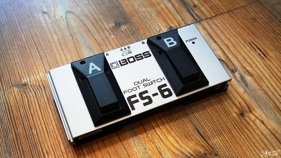BOSS FS-6 Dual Footswitch pedal malta