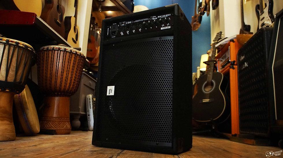 the box active speaker