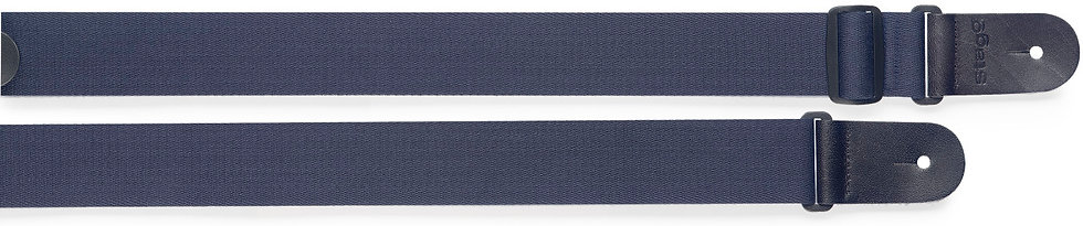 dark blue guitar strap malta
