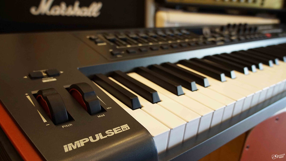 Impulse 61key | Novation Midi Keyboard