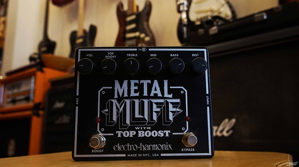 metal muff pedals in malta