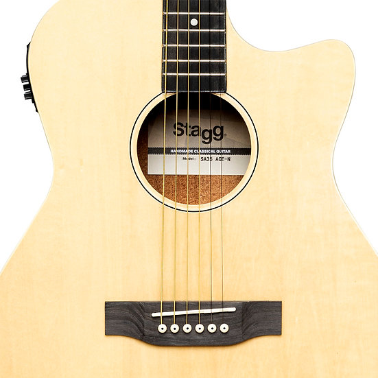 Cutaway Electro-Acoustic Guitar | Stagg