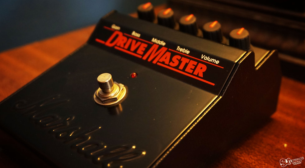 Marshall DriveMaster, Pedal, Guitar Pedal