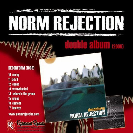 Norm Rejection - Double Album 0002/Deconform, Album Cover