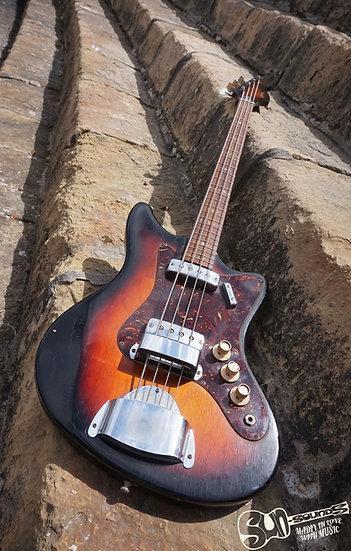 Egmond Tempest 2EBL3, Guitar, Bass, Bassguitar