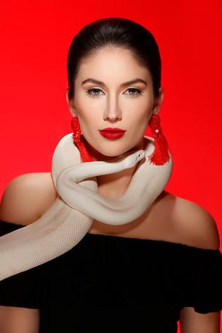 Kansas City Model High Fashion Makeup Al