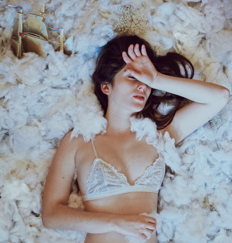 Heaven Cloud Photoshoot Kansas City Bella Donna Model