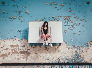 Kansas City model bella donna abandoned school photoshoot