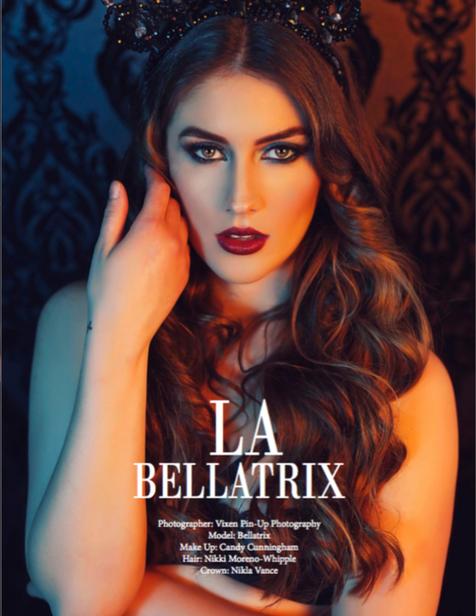 Femme Rebel Magazine boudoir model bella