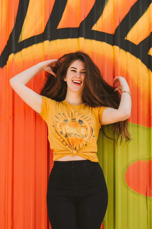Dazey LA brand ambassador bella donna model