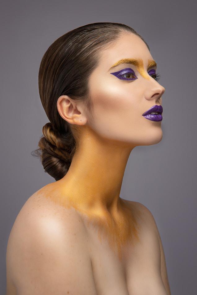 Kansas City Fashion Makeup Model Bella D