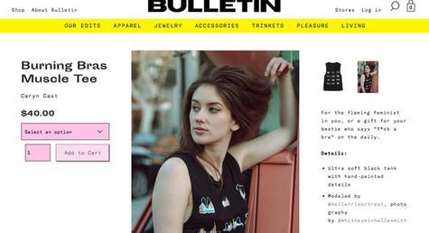 Bulletin Co Brand Ambassador Model Bella Donna