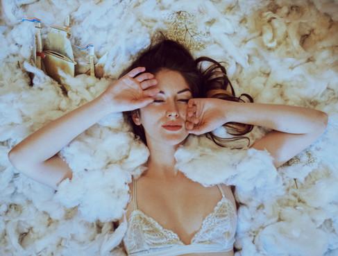 Kansas City Dreamy Boudoir in the Clouds Bella Donna Model