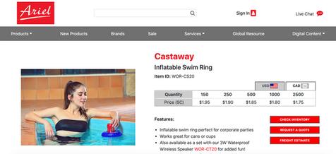Swim Suit Product Model St Louis Bella D