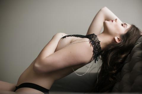 Boudoir Model Bella Donna Kansas City
