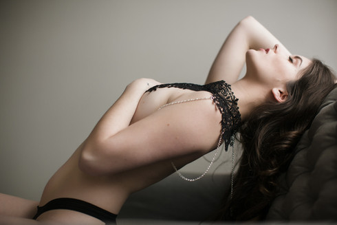 Boudoir Model Bella Donna Kansas City