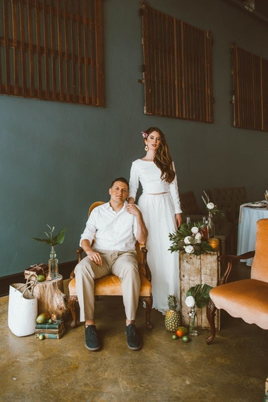The Bold Americana Kansa City Wedding Photography Bella Donna Bridal Model Tropical