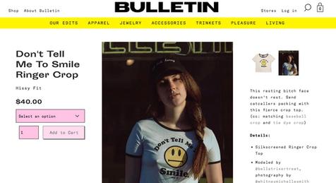 Bulletin Co Brand Ambassador Bella Donna Model