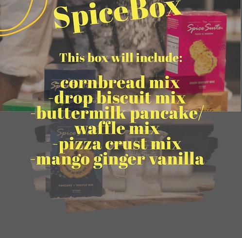 Dry Mix Box w/ vanilla
