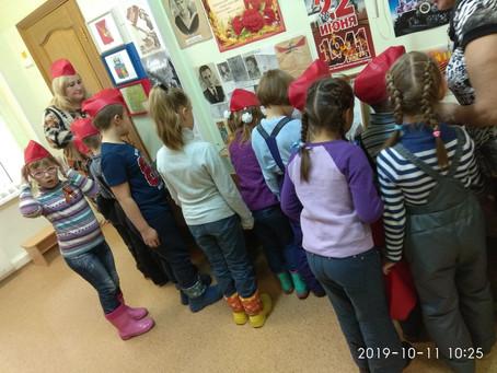 Гости из детского сада №122
