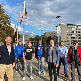 Neuer Landesvorstand von Liberale Schwule und Lesben Nordrhein-Westfalen.