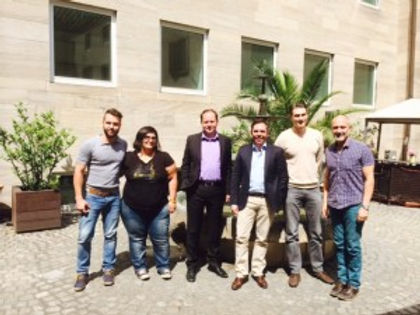 For diversity, against violence – Griechische Delegation informiert sich über LGBT-Arbeit vor Ort
