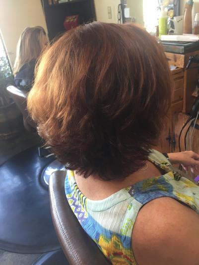 Jan with Restorative Hair Tonic