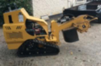 Stump grinder machinery