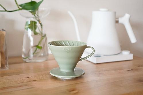 Hario Ceramic Dripper 02 (1-4 cups) - Oil Green