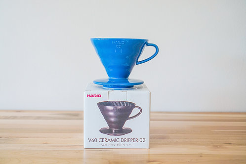 Hario Ceramic Dripper 02 (1-4 cups) -Blue