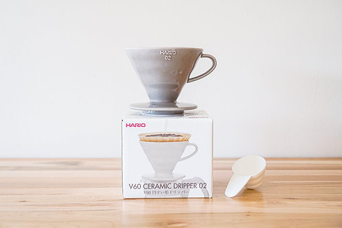 Hario Ceramic Dripper 02 (1-4 cups) -Gray