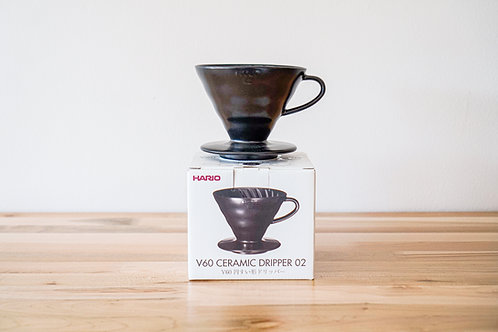 Hario Ceramic Dripper 02 (1-4 cups) - Matt Black