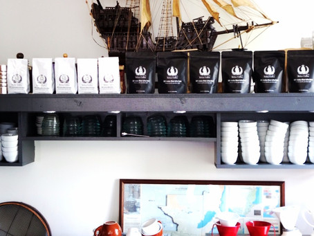 Belux Coffee in Charleston, SC.