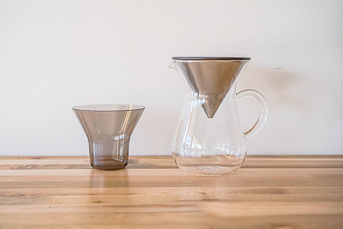 Kinto SCS coffee carafe set 600ml