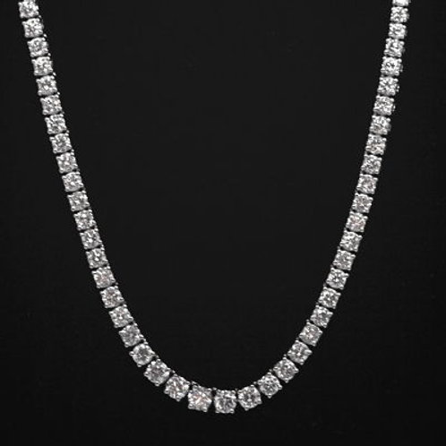 10ct Diamond Line Necklace