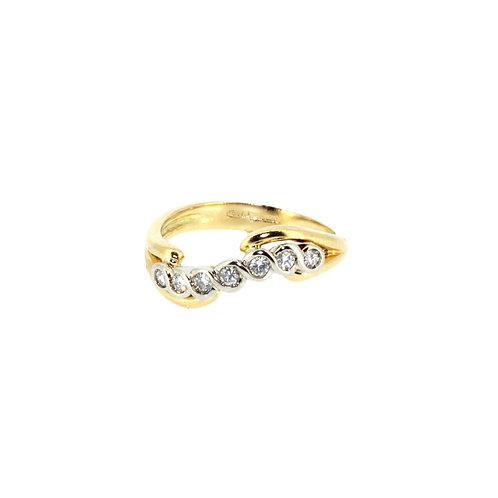 Diamond Twist Ring
