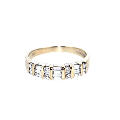 Fancy Half Eternity Ring