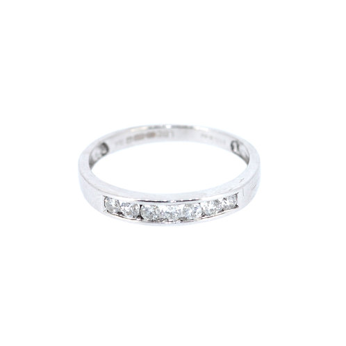 Diamond Half-Eternity Ring
