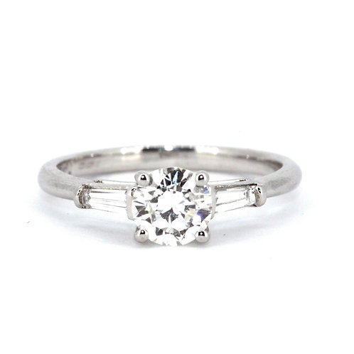 0.80ct Solitaire Diamond Ring