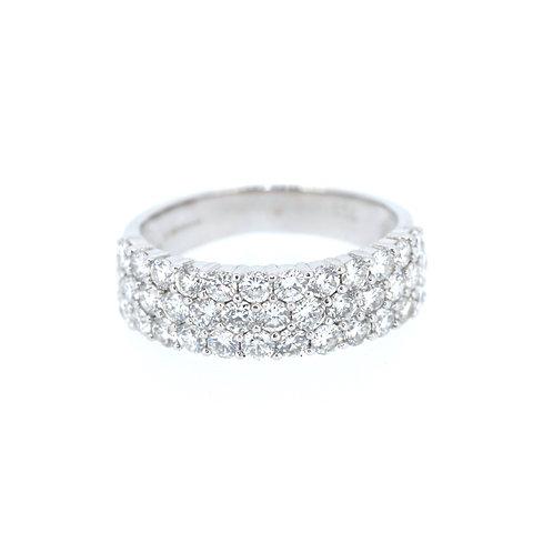 Fancy Diamond Half-Eternity Ring