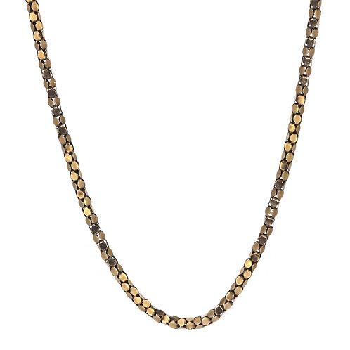 Victorian 9ct Block Chain Necklace