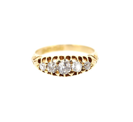 Edwardian-five-stone-diamond-ring-jewell
